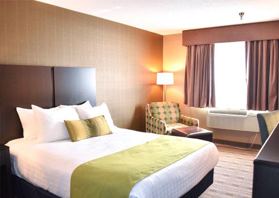 Standard One Queen Room at Best Western Airport Inn Hotel, Rhode Island
